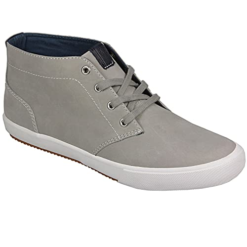 Neue Fred Perry Kingston Leder Leder Weiß Sneakers Herren