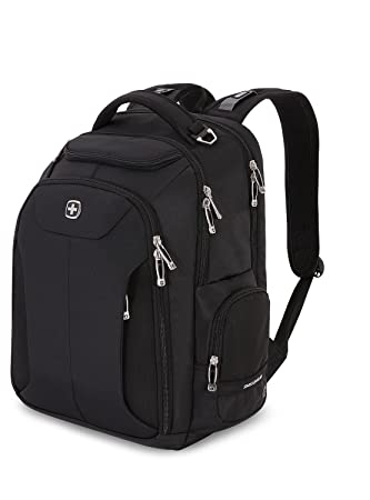 536ab5f0f328 Swiss Gear Business Pro 28 litres Black Laptop Backpack  Amazon.in ...