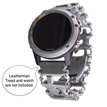 BestTechTool LEATHERMAN Tread Watch Adapter for GARMIN - Leatherman watch link - BTT adapter for GARMIN