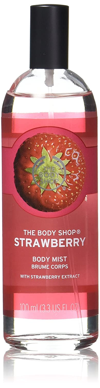 The Body Shop STRAWBERRY BODY MIST ERDBEERE KÖRPERSPRAY 100ml The-9370