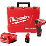 """Milwaukee Electric Tools 2553-22 M12 Fuel 1/4"""" Hex Impact Driver Kit"""