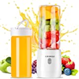 Portable Personal Blender, Household Juicer Fruit Shake Mixer -Six Blades,Travel Blender Small Fruit Mixer Detachable…