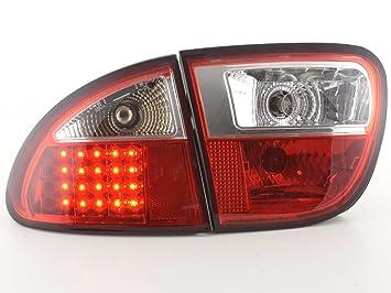 at72026 - Faros traseros LED Seat Leon tipo 1 M Bj. 1999 - 2005 rojo: Amazon.es: Coche y moto