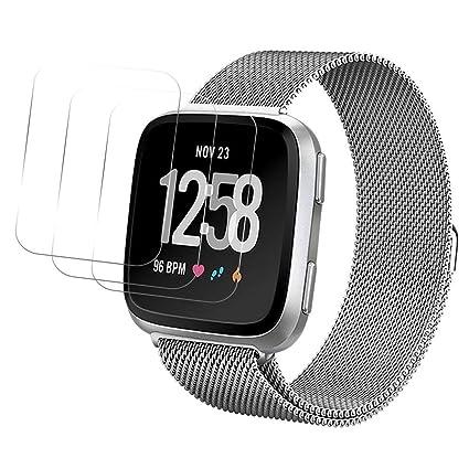 Ztotop Protector de Pantalla para Fitbit Versa Smartwatch, 2 ...