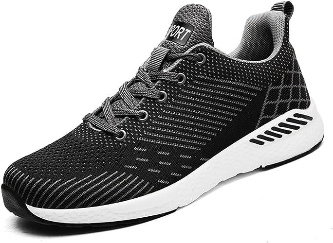 Flarut Unisex Mujer Zapatos para Correr en Montaña y Asfalto Aire Libre y Deportes Zapatillas de Running Padel para Hombre Calzado Gimnasia(Gris,40): Amazon.es: Zapatos y complementos