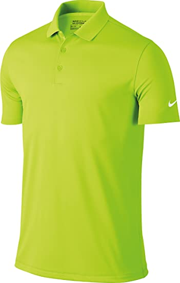 3aa444e73 Nike Golf Victory Solid Mens Polo Shirt - 12 Colours / Sml-2XL - Volt - M:  Amazon.co.uk: Clothing