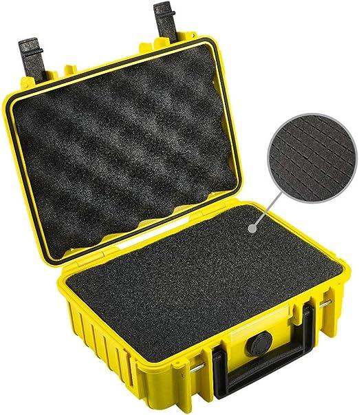 B W Transportkoffer Outdoor Typ 1000 Gelb Mit Kamera