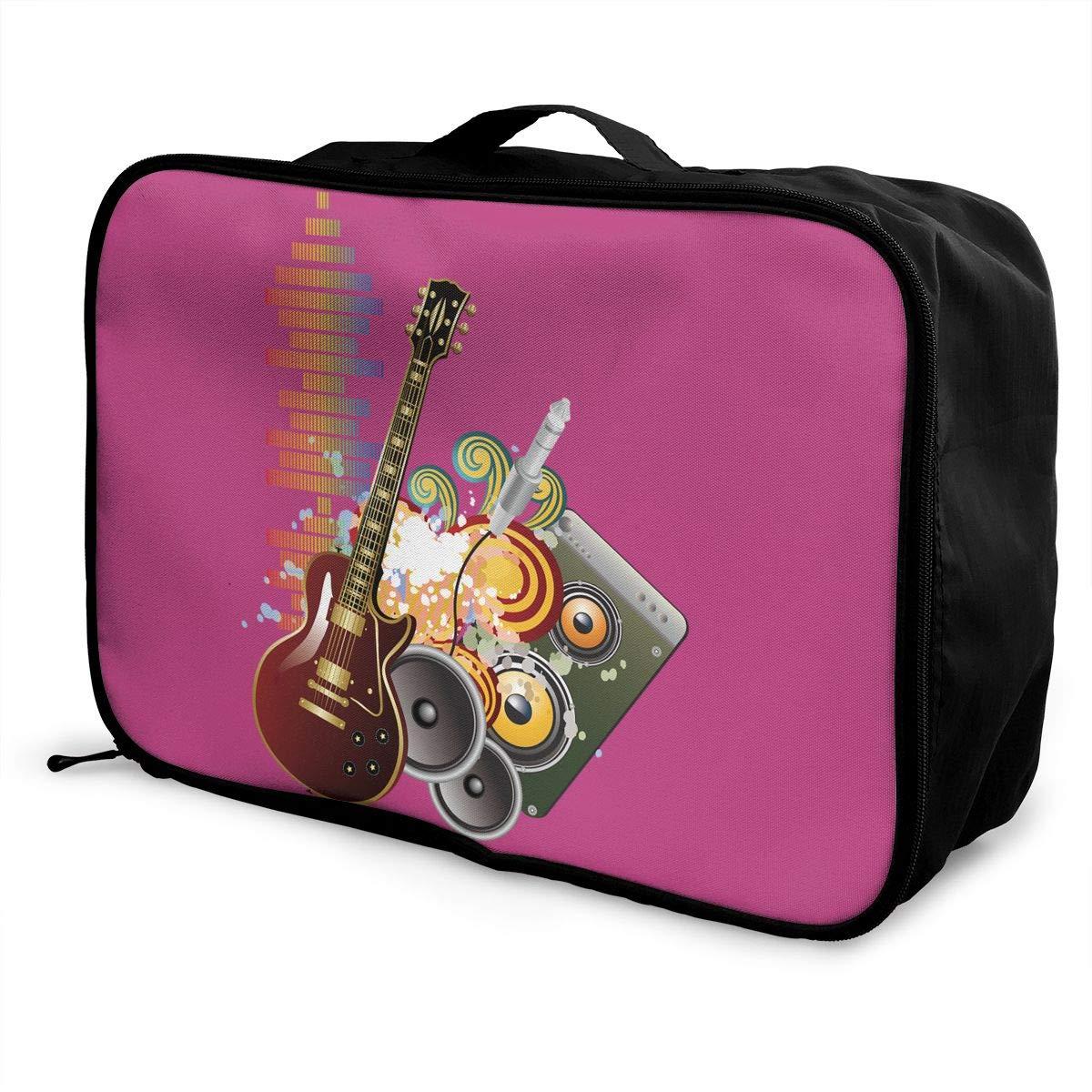 Travel Luggage Duffle Bag Lightweight Portable Handbag Banana Tree Leaves Large Capacity Waterproof Foldable Storage Tote