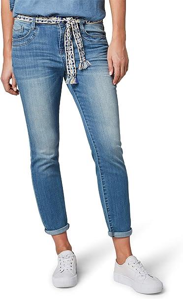 TOM TAILOR Damen Tapered Slim Jeans