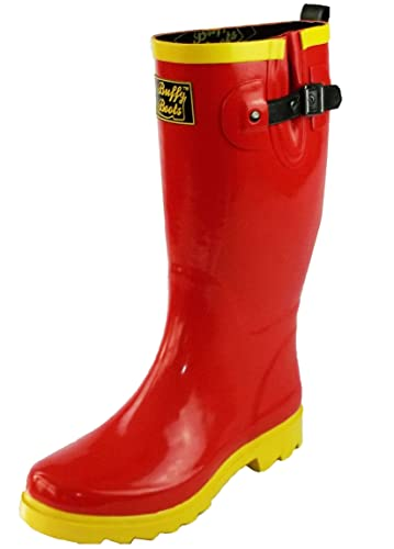 ab024f063c9 Buffy Boots Women s Rubber Rain Boots