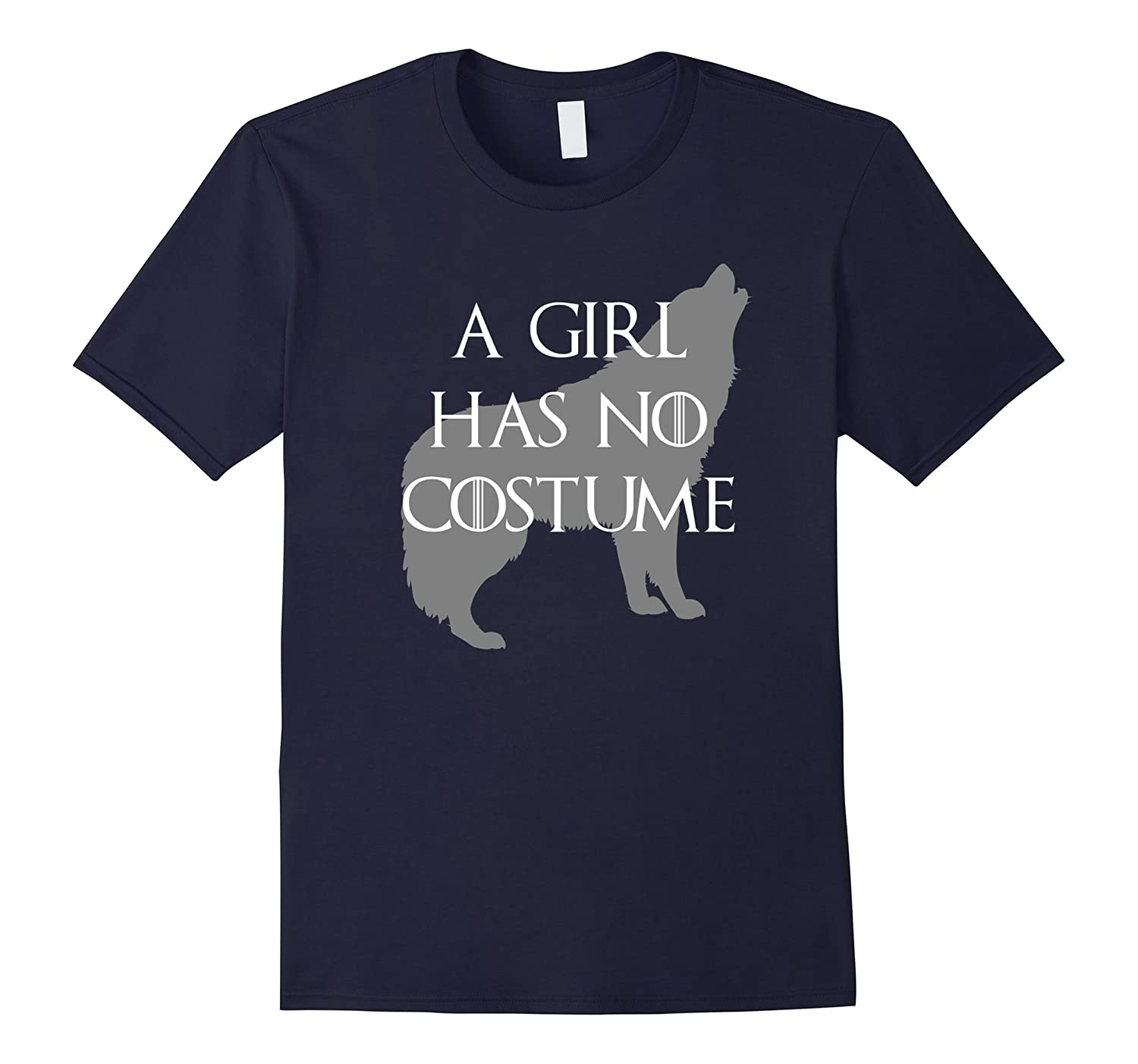A Girl Has No Costume Wolf T-Shirt-FL