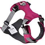 PerSuper - Soft Mesh Dog harness Front Range Four Points of Adjustments,No Pull Pet Halter Harness Vest with Padded Panels for Small ,Medium and Large Breed Dogs
