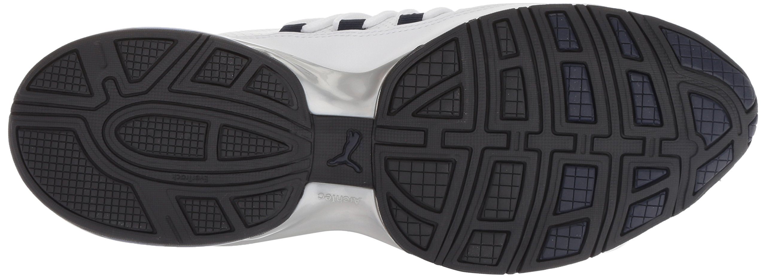 PUMA Men's Cell Regulate SL Sneaker, White Black-Peacoat Silver, 7 M US by PUMA (Image #3)