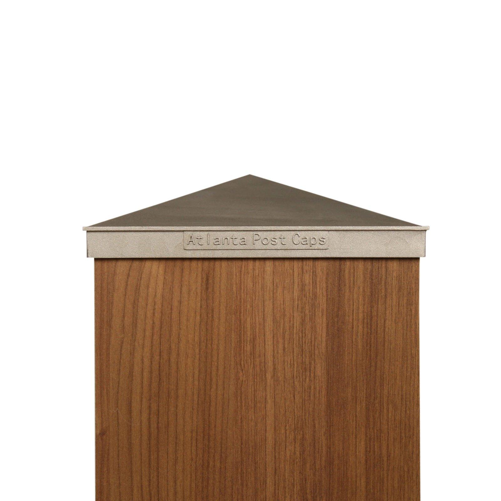 8x8 (True 8'') - Plain Aluminum Post Cap
