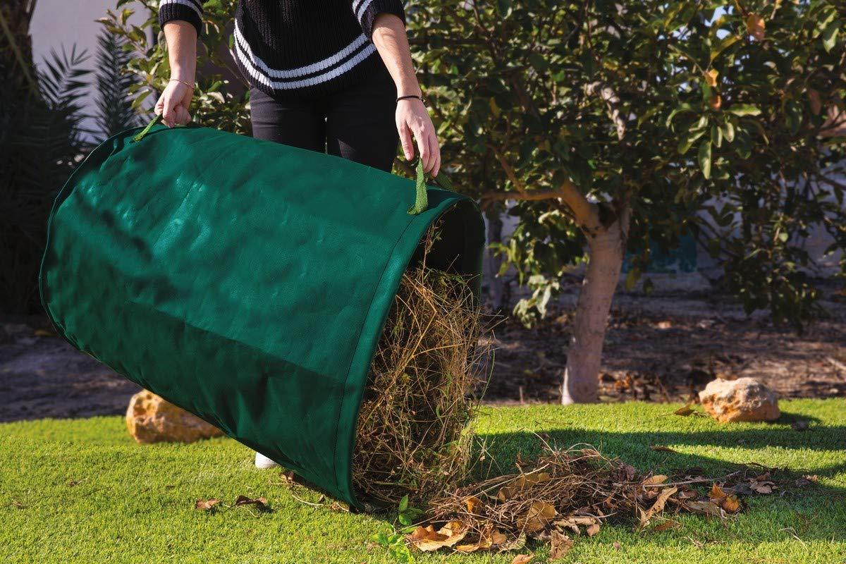 saco de deshechos jardin aro plastico para la entrada de bolsa 150 l Catral 6020002