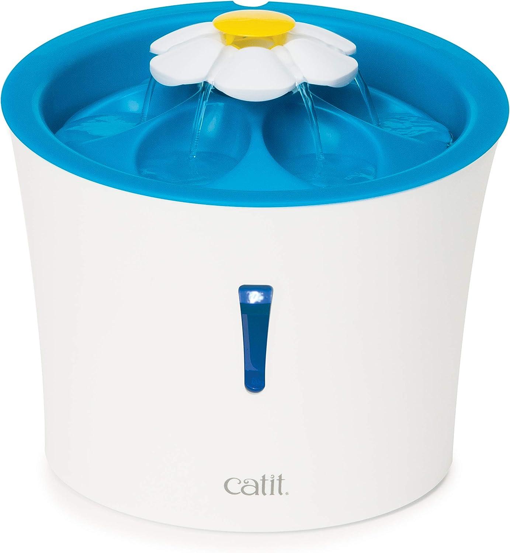 Catit Catit Bebedero Fuente Flor LED 3 LTS 1 Unidad 2000 g