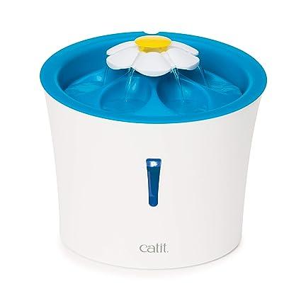 Catit 43747w - Fuente con luz LED (3 l)