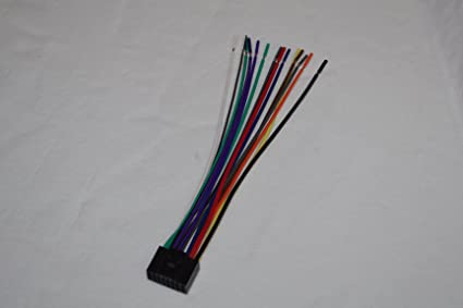 71Twrv3JEpL._SX425_ amazon com wire harness for jvc models kd nx5000, kd x310bt, kd jvc kd-a605 wiring diagram at bakdesigns.co