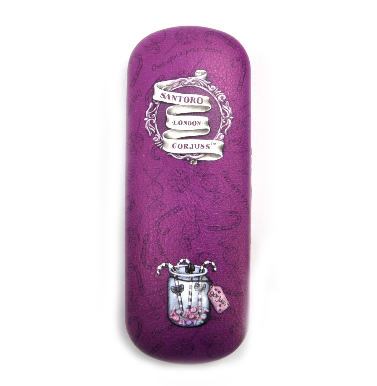 Amazon.com: Gorjuss Sugar and Spice - Glasses Case: Home ...