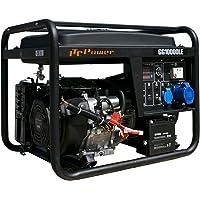 ITCPower IT-GG10000LE Generador Gasolina 8KW, 8200 W, 230 V, negro