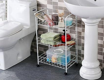 Mensole bagno hwf scaffali da bagno di scaffale muovono i ripiani