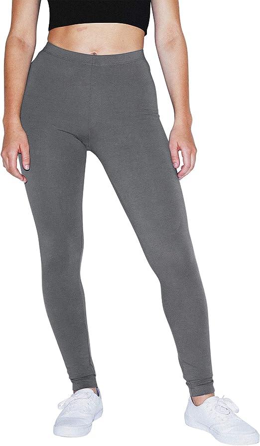 American Apparel Womens Cotton Spandex Jersey Legging