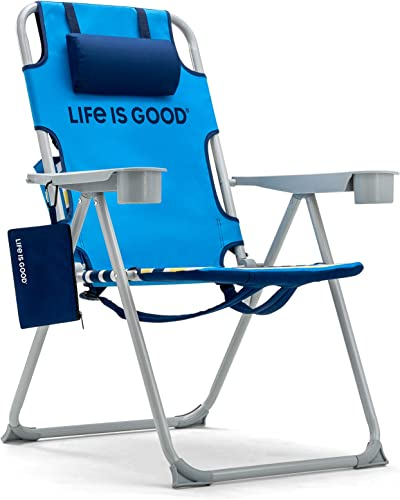 Life is Good Backpack Lawn Chair