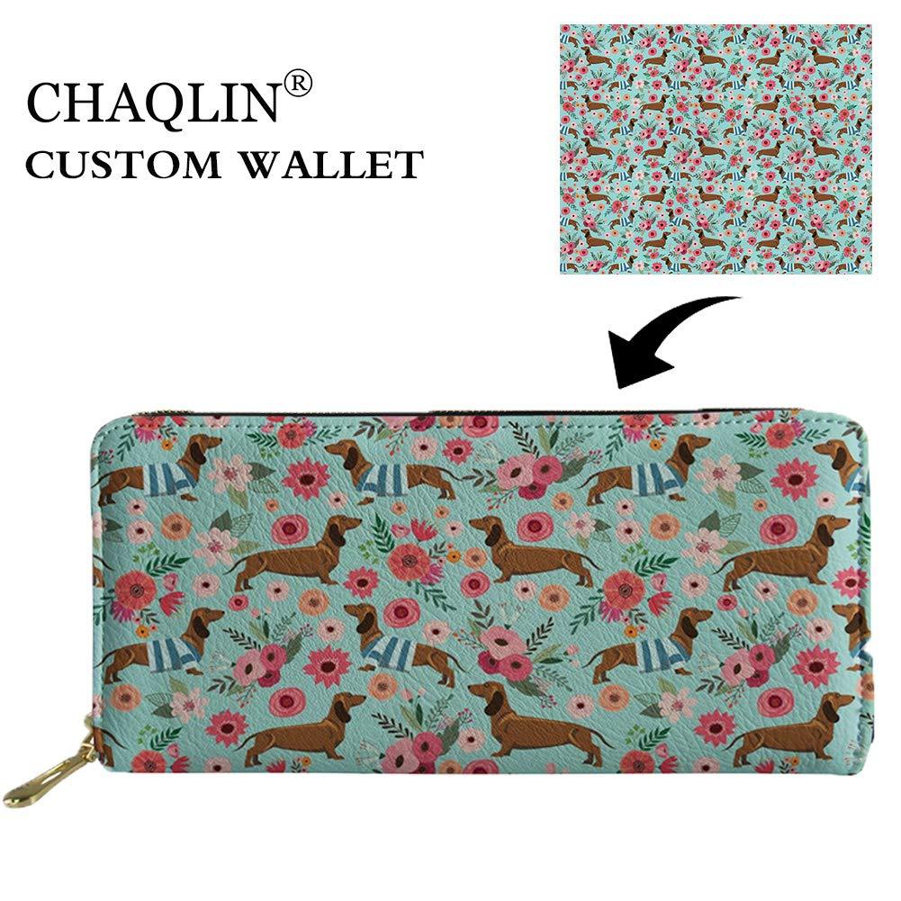 Amazon.com: Chaqlin - Monedero con cremallera, diseño de ...