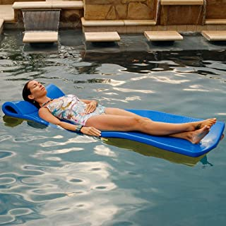 "product image for Texas Recreation Sunray 1.25"" Thick Swimming Pool Foam Pool Floating Mattress, Bahama Blue"