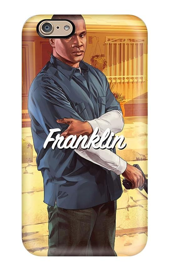 Amazon com: Premium Michael Franklin Trevor In Gta 5 Back