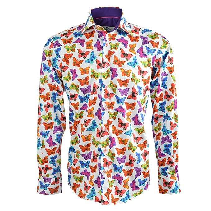Butterfly Print Shirt by Claudio Lugli