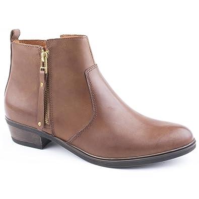 Bootmaker Damen Otter Braun Jones Stiefelette 8kX0PnwO
