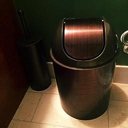 Amazon Com Umbra Mezzo 2 5 Gallon Swing Top Waste Can