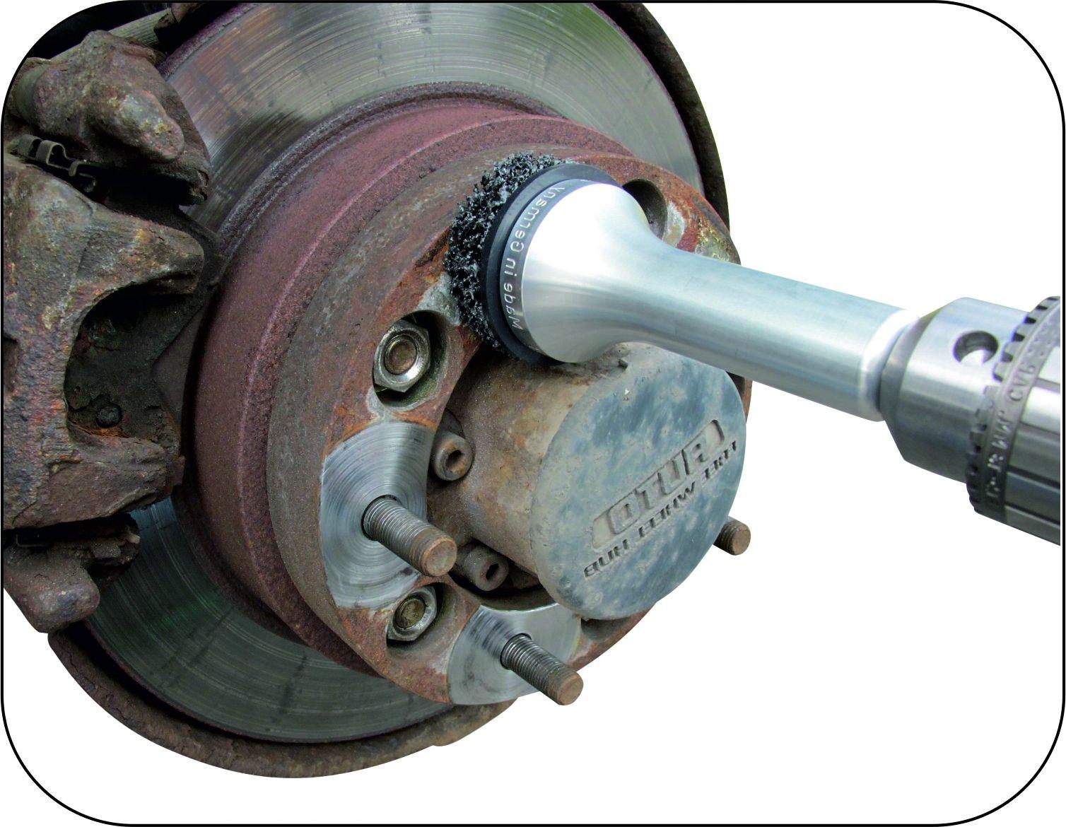 Mueller-Kueps 433 618 Aluminum Type 2 Wheel Hub Grinder by Mueller-Kueps (Image #1)