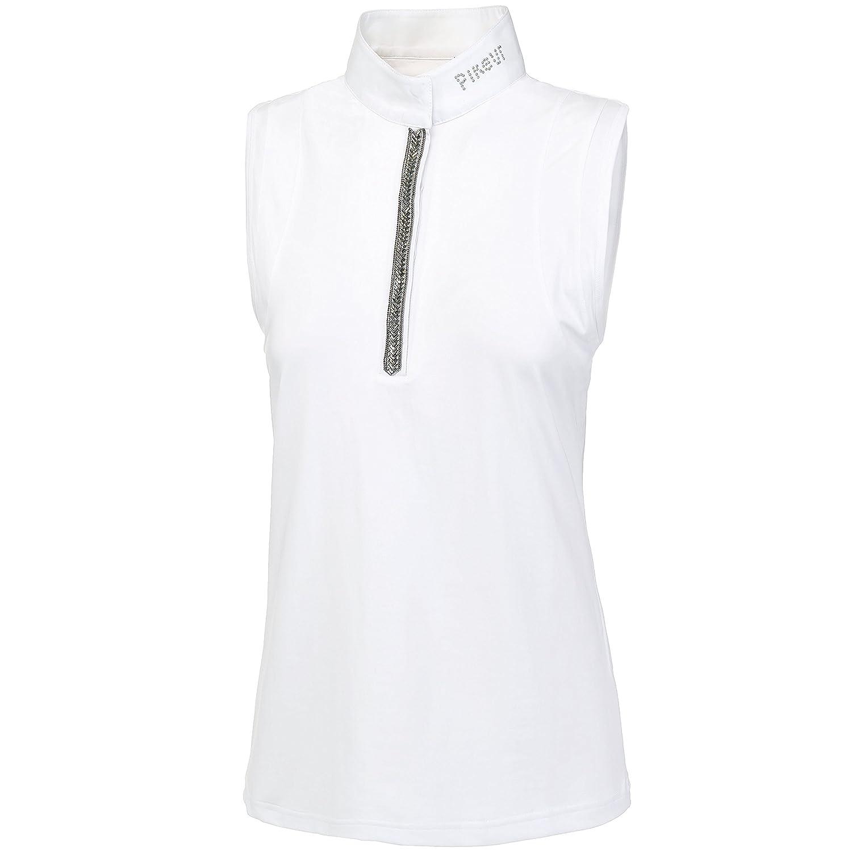 Pikeur - Damen Turniershirt ohne Arm SALEA weiß 38