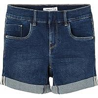 NAME IT Pantalones Cortos para Niñas
