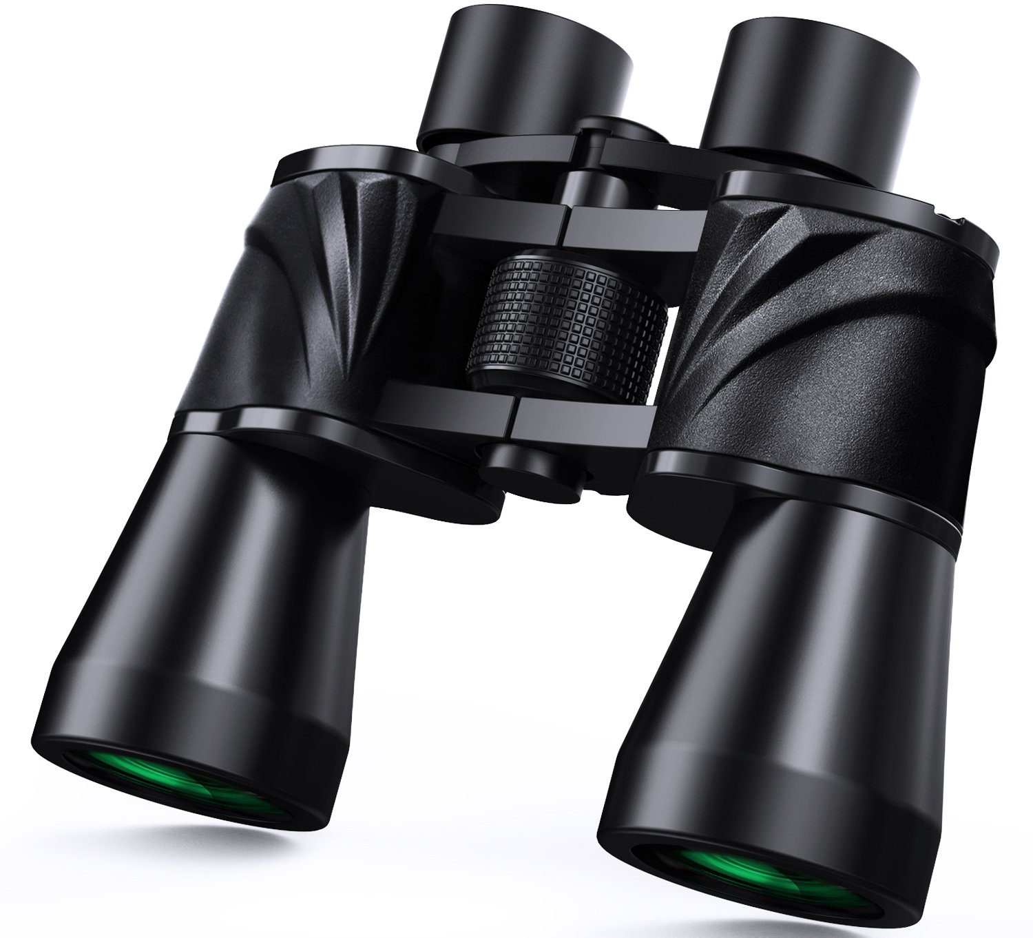 10x50 Powerfull Binoculars for Adults with Low Light Night Vision, Large Eyepiece, 10 Seconds Quick Focus, Waterproof Wide Angle Compact-Binoculars-for-Adults-Bird-Watching, Hunting, Concerts by Pankoo