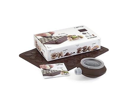 Lékué - Kit para Macarons, Color marrón Oscuro: Amazon.es: Hogar