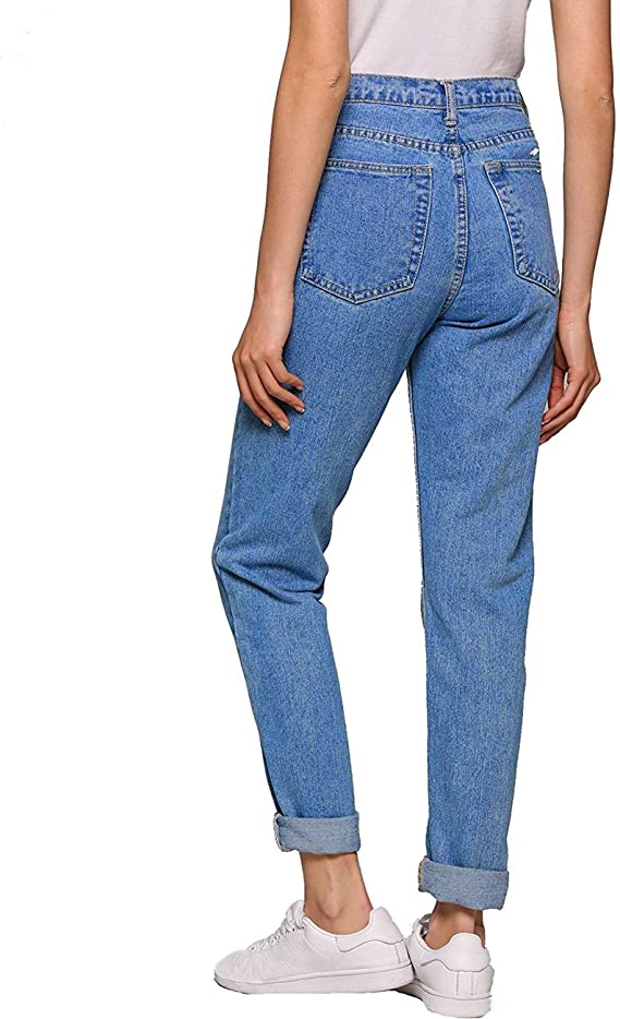 Lee Da Donna 5 Pocket Jeans Slim Fit Stretch Boyfriend Anca Pantaloni Jeans A Sigaretta NUOVO