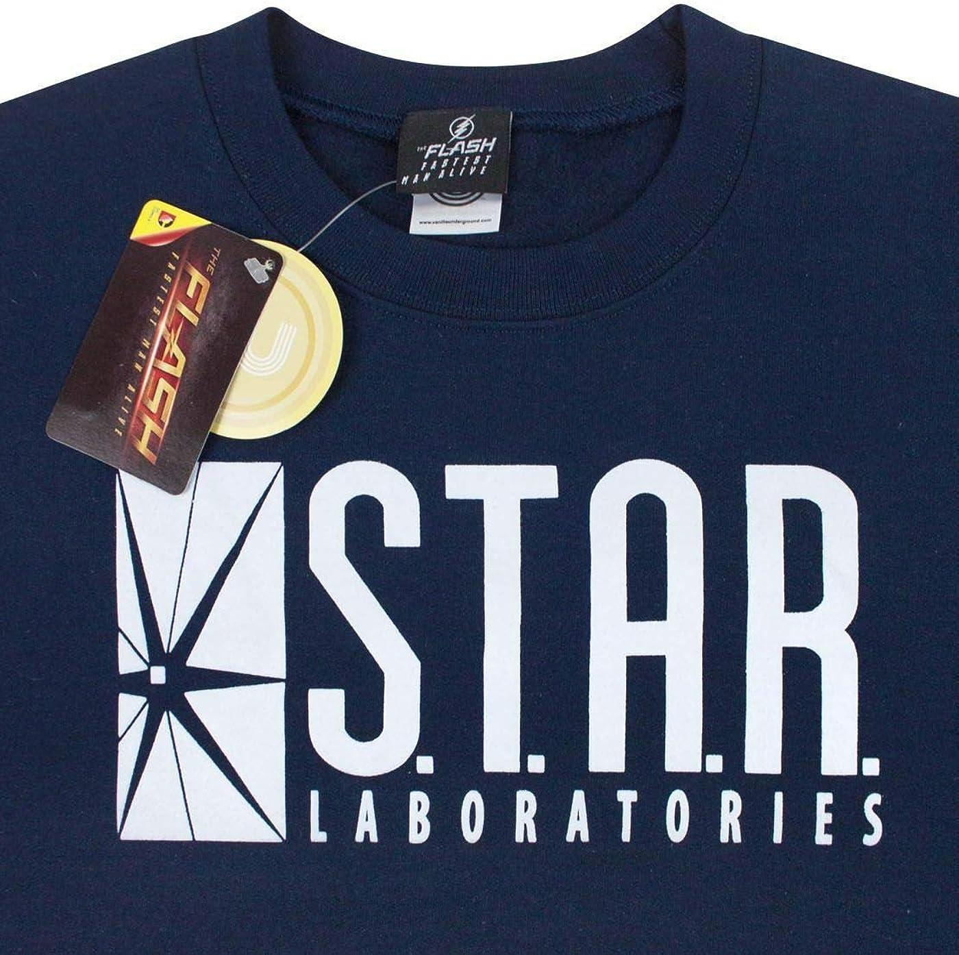 DC Comics Flash TV S.T.A.R Laboratories Unisex Sweater