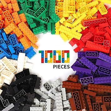 1 x 2 LEGO Basic 355 Stück Steine rot 1 x 1 1 x 3 Bausteine Grundsteine