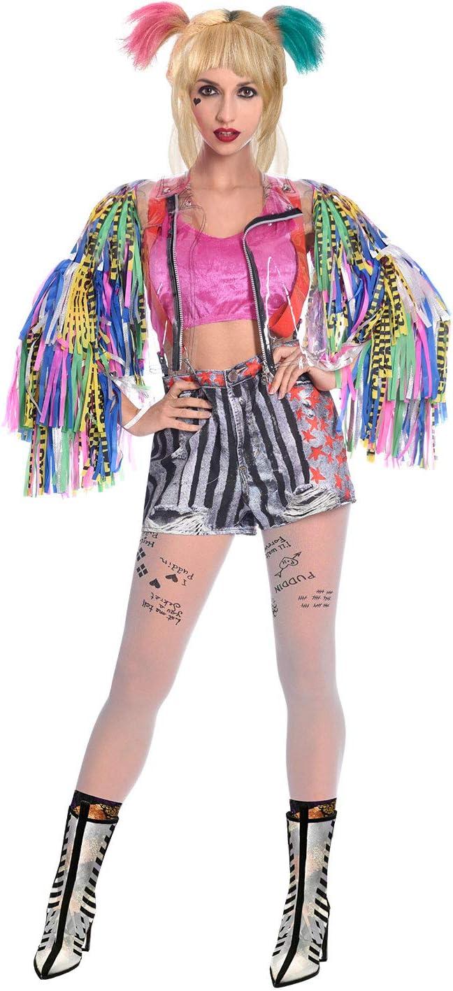 Disfraz de Warner Bros Bop Harley Quinn para Mujer Adulta (Talla ...
