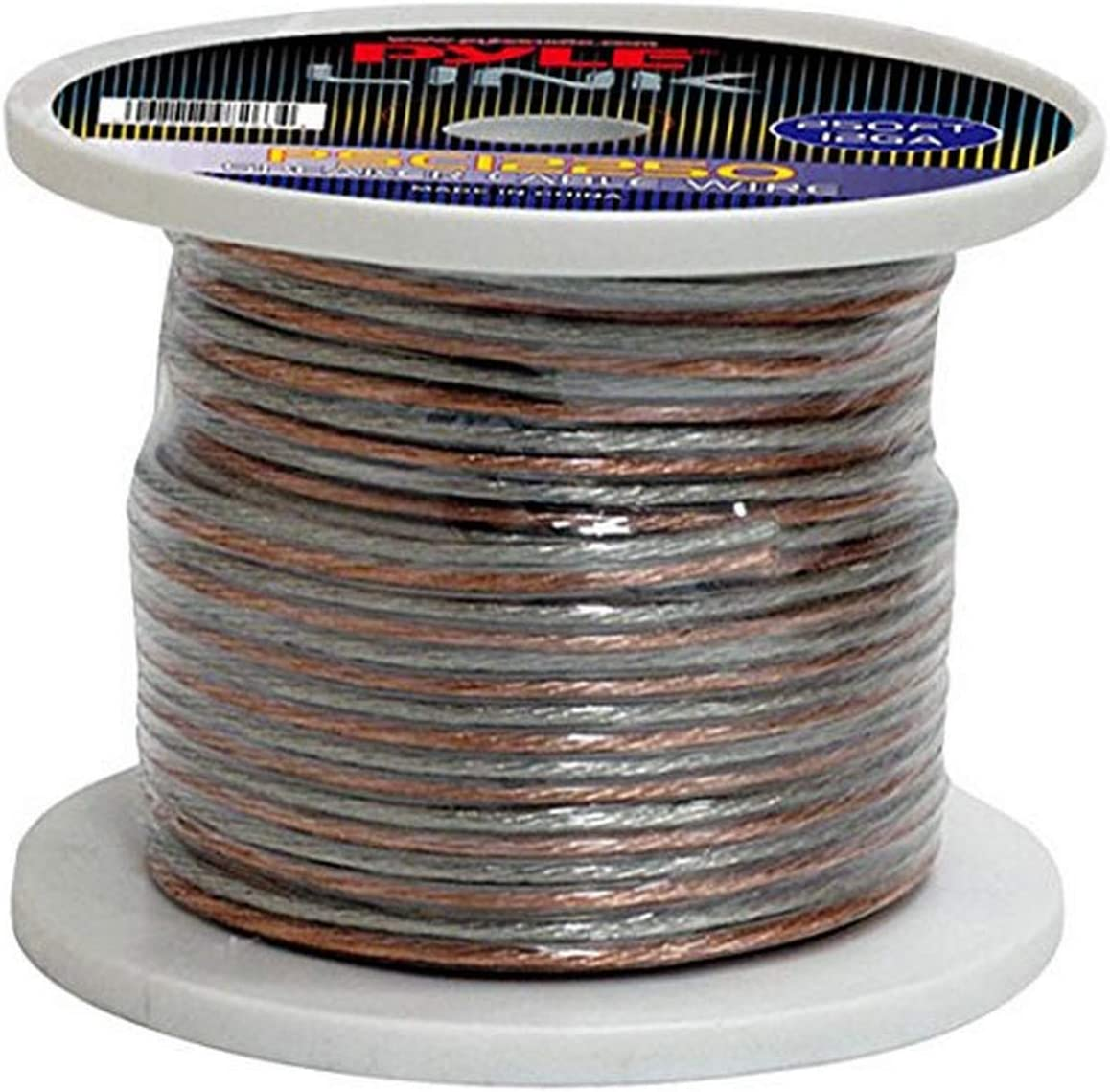 250ft 12 Gauge Speaker Wire - 1 Piece Copper Cable in Spool for Connecting Audio Stereo to Amplifier, Surround Sound System, TV Home Theater and Car Stereo - Pyle PSC12250: Home Audio & Theater