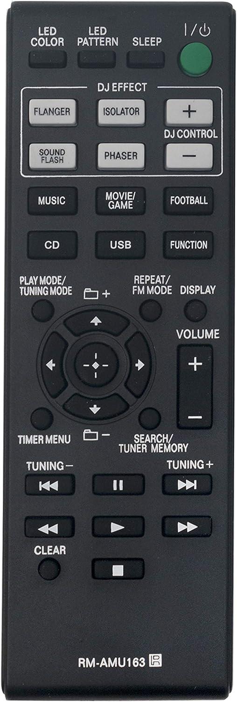 Control remoto RM-AMU163 para Sony Shake-7 HCD-GPX33