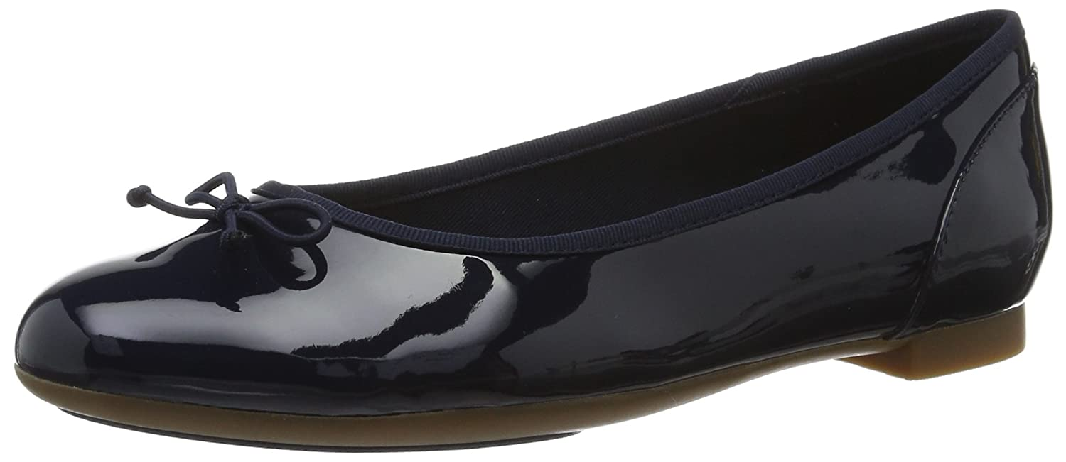 Clarks (Navy Couture Bloom, Ballerines Femme Ballerines Bleu (Navy Couture Patent) 86586c3 - piero.space