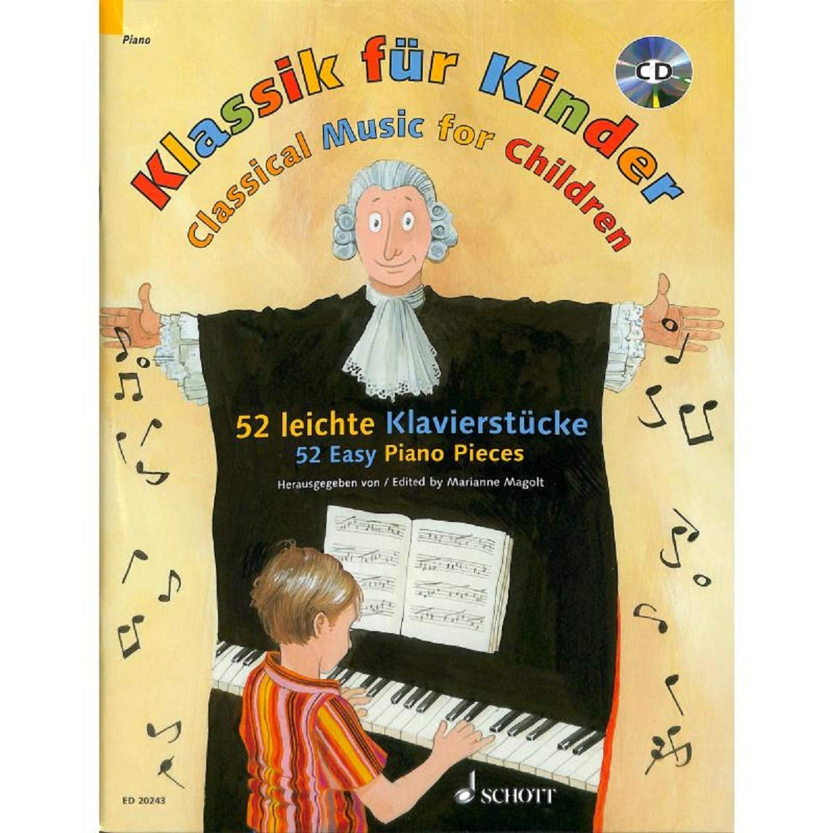 Classique pour les enfants - 52 Piano morceaux - Sélectionné pour ...