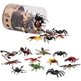 Terra by Battat – Insect World – Assorted Miniature Insect Toys For Kids 3+ (60 Pc)