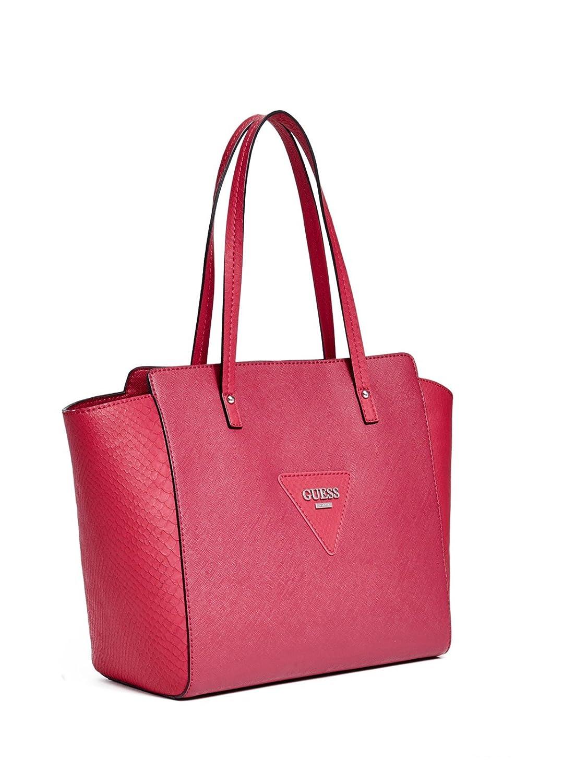 d80f835d96 GUESS Women s Liberate Large Tote Bag Handbag (Black)  Handbags  Amazon.com