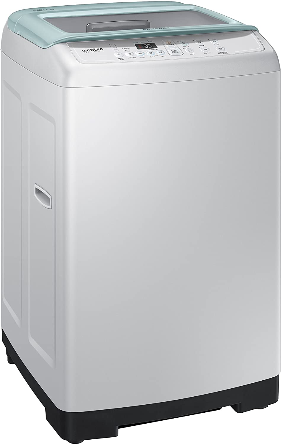 Samsung 6 kg Fully-Automatic Top Loading Washing Machine (WA60H4300HB,  Light Grey and Savoy Blue): Amazon.in: Home & Kitchen