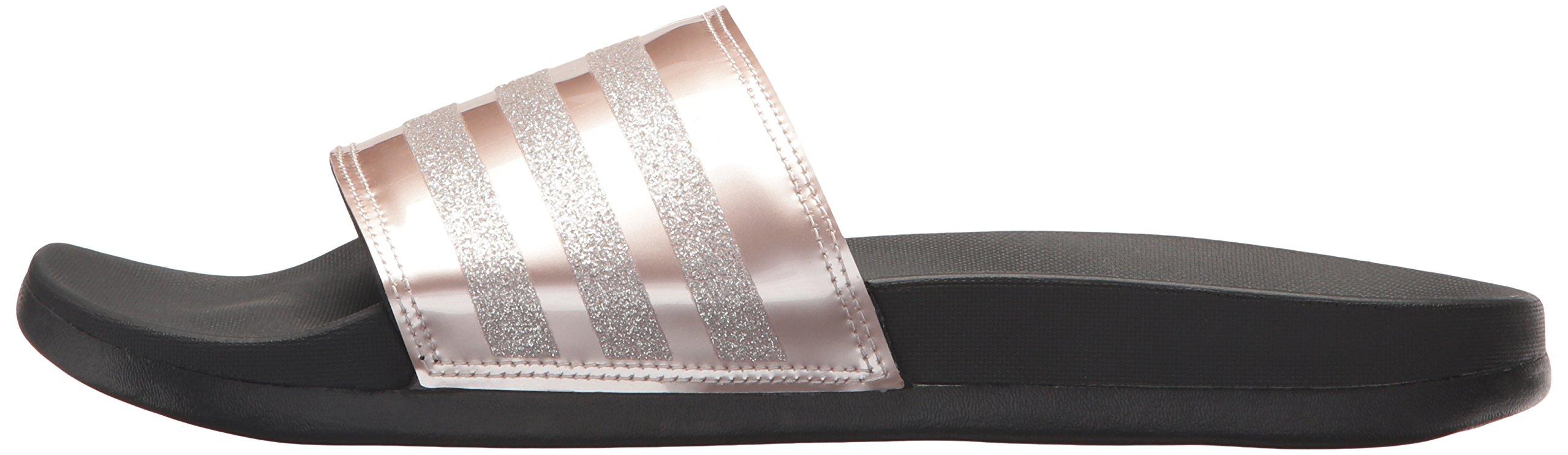 adidas Performance Women's Adilette CF+ Explorer W Sport Sandal, Vapour Grey Met, Vapour Grey Met.Fabric, Core Black, 9 M US by adidas (Image #5)
